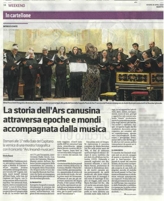 Gazzetta di Reggio, 26 apr 2019
